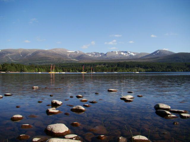 Zdjęcia: Loch Morlich, Cairngorms Mountains, pelen relax  Szkocja, SZKOCJA