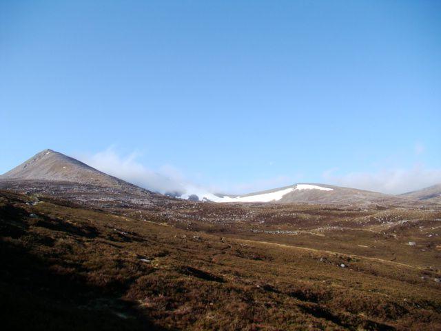 Zdj�cia: Glen More, Cairngorms Mountains, na szlaku, SZKOCJA