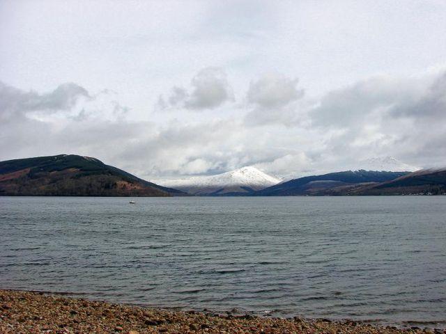 Zdjęcia: Inveraray, Agryll Bute, Loch Fyne, SZKOCJA