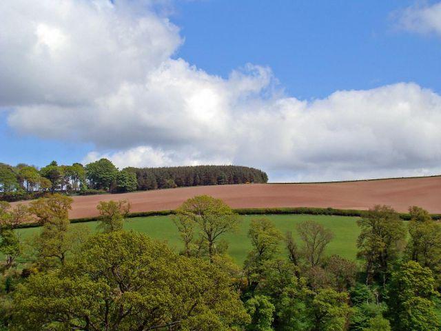Zdjęcia:  okolice Comptown (droga A68 ) north direct., Scottish Borders, miedzy niebem a ziemia, SZKOCJA