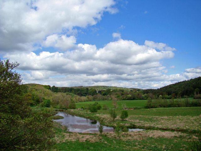 Zdjęcia:  okolice Comptown (droga A68 ) north direct., Scottish Borders, sloneczna Szkocja ? , SZKOCJA