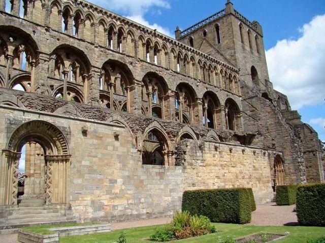 Zdjęcia: Jedburgh, Scottish Borders, Jedburgh  Abbey, SZKOCJA