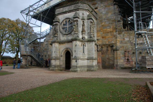 Zdjęcia: Rosslyn, niedaleko Edinburgha, Słynna Rosslyn Chapel, SZKOCJA