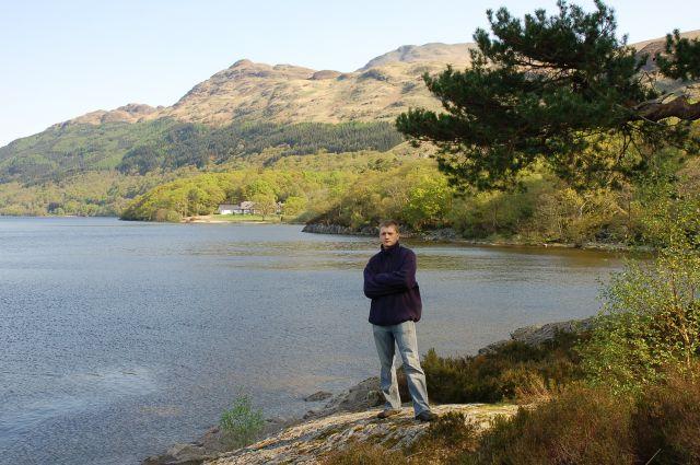 Zdj�cia: Loch Lomond, Zach. Szkocja, Nad jeziorem Loch Lomond, SZKOCJA