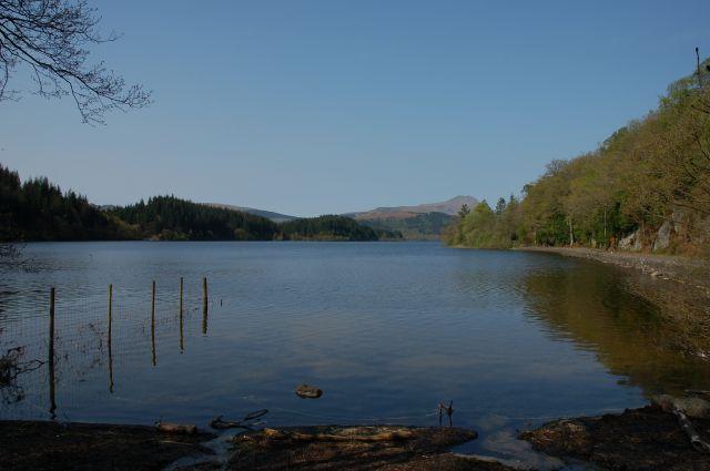 Zdjęcia: Niedaleko Stirling, Zach. Szkocja, W drodze na Loch Katrine, SZKOCJA