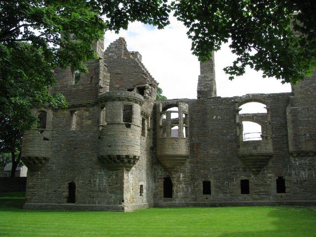Zdjęcia: Kirkwall, Orkady, stary pałacyk na Orkadach, SZKOCJA
