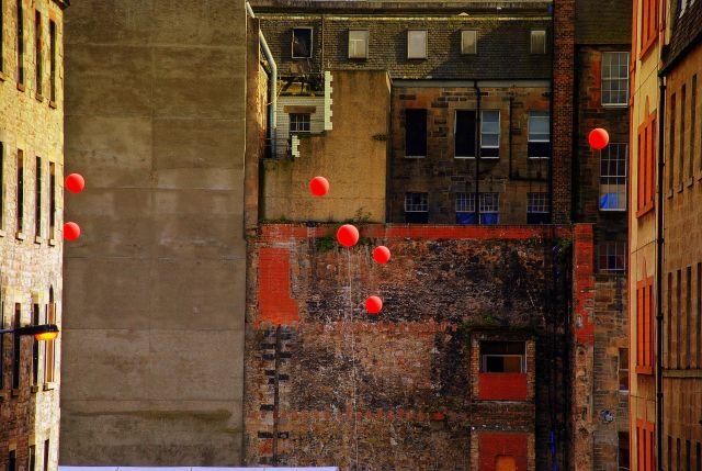 Zdjęcia: Edinburgh, płn.-wsch., balony, SZKOCJA