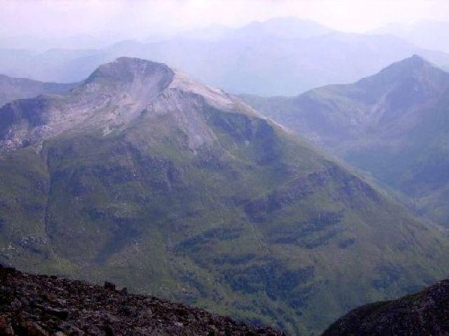 Zdjęcia: Ben Nevis, Highlands, widok prawie ze szczytu, SZKOCJA