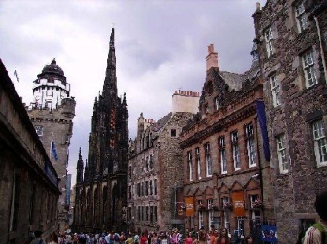 Zdj�cia: Edynburg, Po�udniowa Szkocja, Royal Mile, SZKOCJA