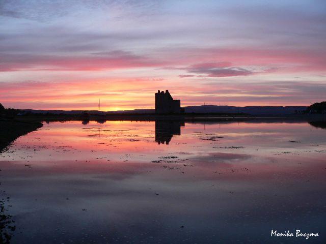 Zdjęcia: Arran Island, Szkocja, Zamek Lochranza , SZKOCJA