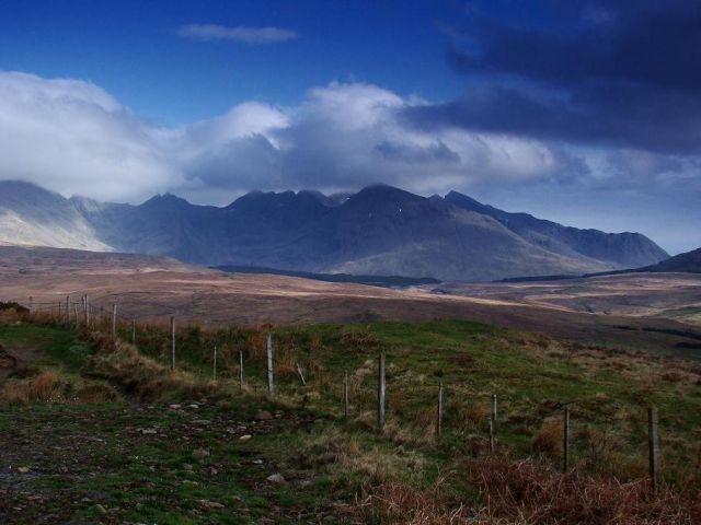 Zdjęcia: Wyspa Sky, Highland, moje szkockie wedrowki, SZKOCJA