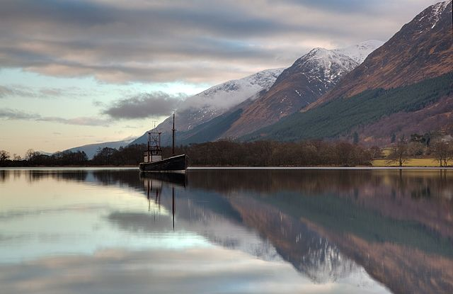 Zdjęcia: Loch Lochy, Highlands, Loch Lochy, SZKOCJA
