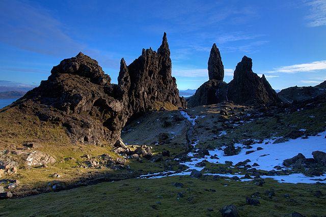 Zdjęcia: Isle of Skye, Isle of Skye, Old Man of Storr, SZKOCJA