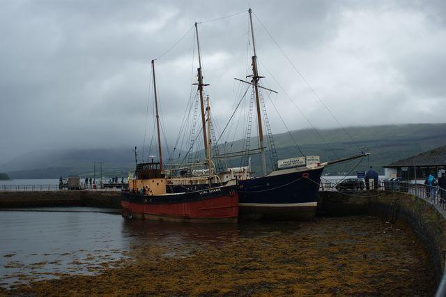 Zdjęcia: Fine, Statki.Loch Fine., SZKOCJA