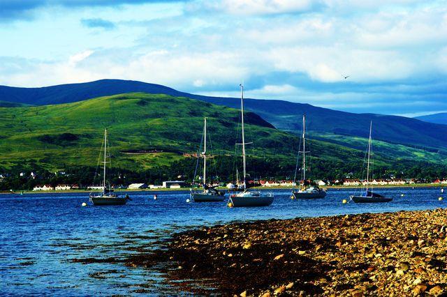 Zdjęcia: Szkocja,  Loch Long, SZKOCJA