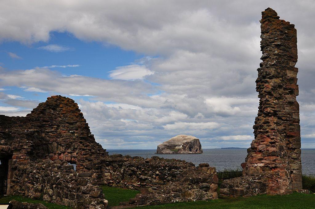 Zdjęcia: Bass Rock, wschodnia Szkocja, Bass Rock, SZKOCJA
