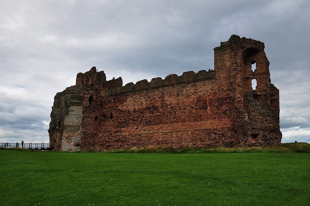 Zdjęcia: niedaleko od North Berick, East Lothian, Tantallon Castle, SZKOCJA