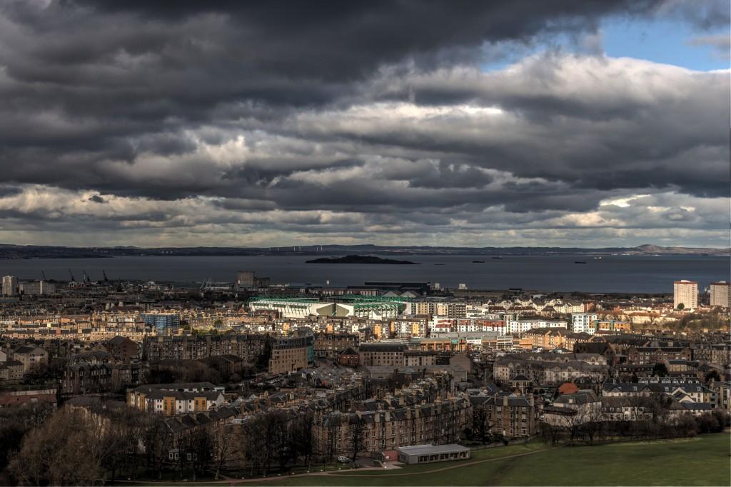 Zdjęcia: Edynburg, Panorama Edynburga, SZKOCJA