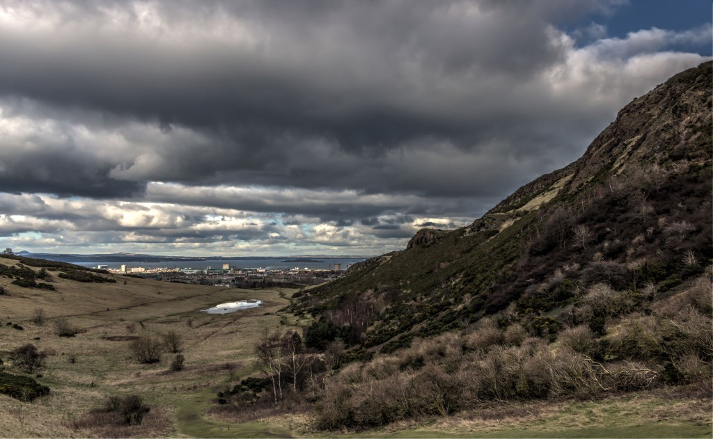Zdjęcia: Edynburg, Na szlaku Arthur's Seat 2, SZKOCJA