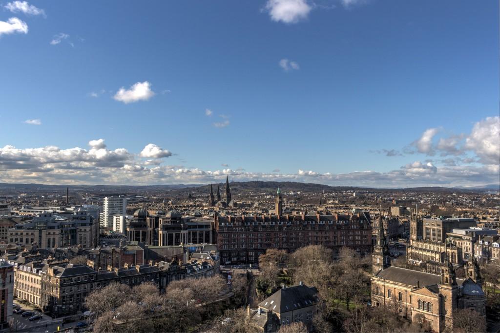Zdjęcia: Edynburg, Panorama miasta 2, SZKOCJA