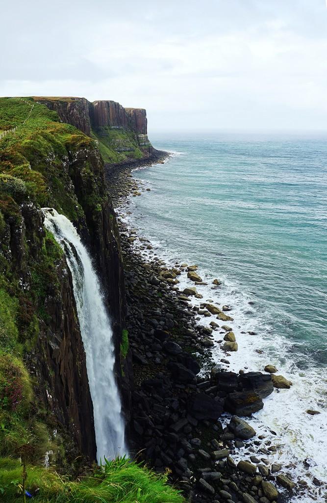 Zdjęcia: Loch Mealt, Wyspa Skye, Kilt Rock, SZKOCJA