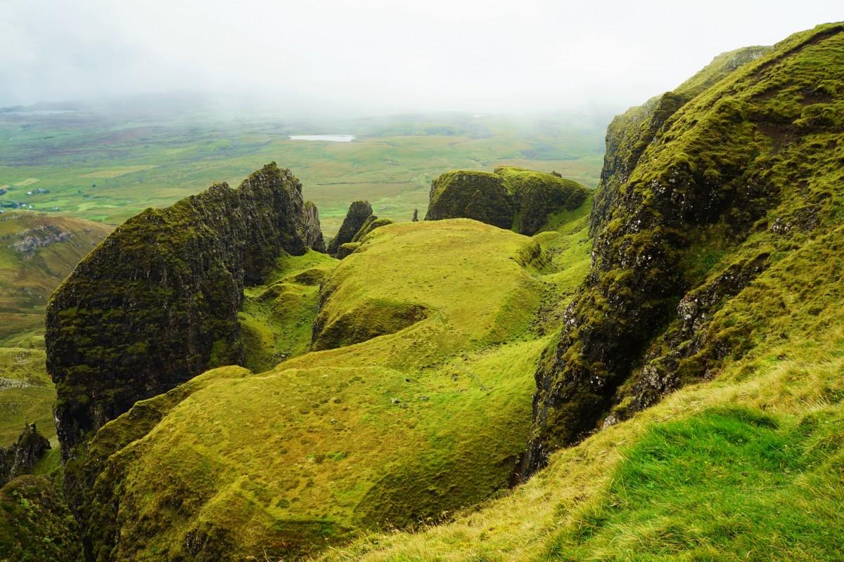 Zdjęcia: Góry Quiraing, Wyspa Skye, The Table, SZKOCJA