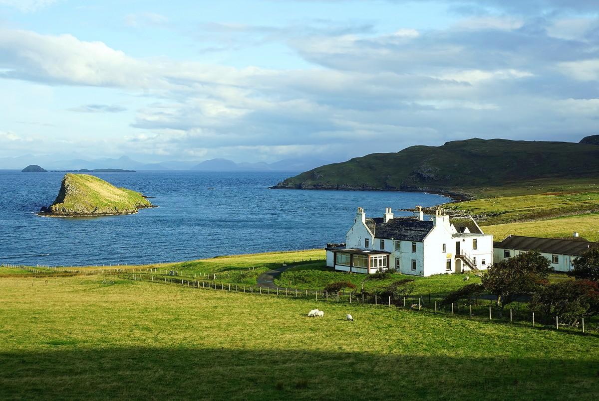 Zdjęcia: Duntulum, Wyspa Skye, Farma z widokiem, SZKOCJA