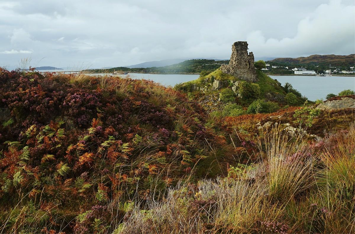 Zdjęcia: Kyleakin, Wyspa Skye, Był sobie zamek, SZKOCJA