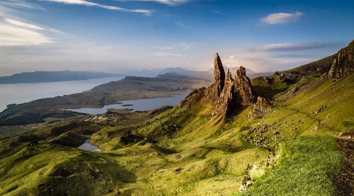 Zdjęcia: Old Man of Storr, Skye, Old Man of Storr, SZKOCJA
