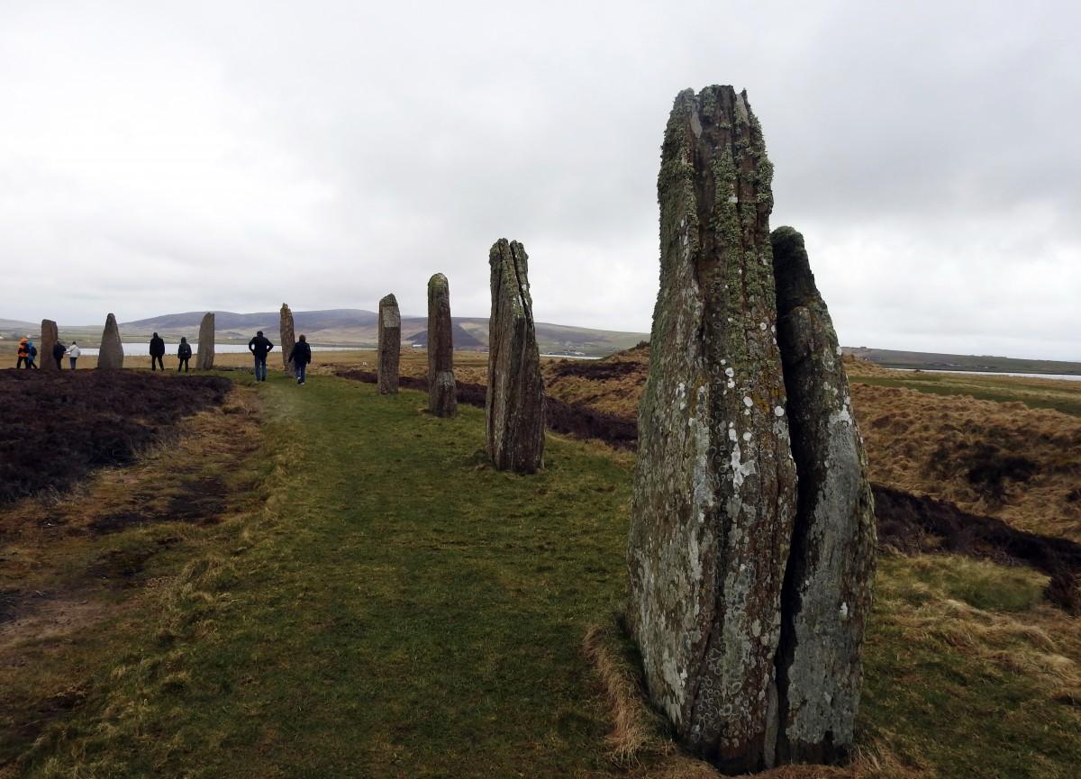 Zdjęcia: Ring of Brodgar, Orkady, Kamienne kręgi, SZKOCJA