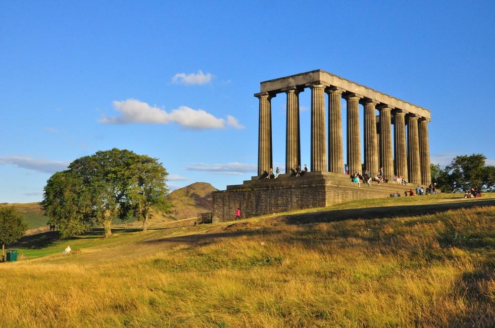 Zdjęcia: Edynburg, Edynburg, The National Monument, SZKOCJA