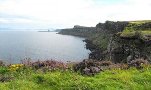 Zdjecie SZKOCJA / - / Skye Island / Kilt Rock