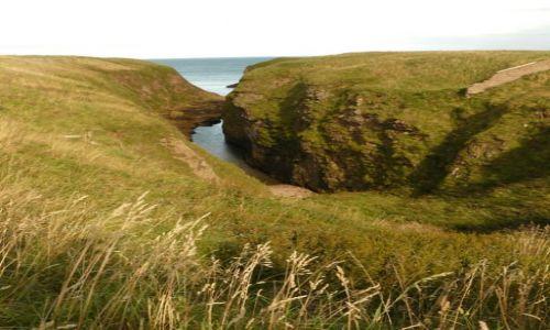 Zdjecie SZKOCJA / Aberdeen-shire / Zatoka Cruden / Cruden Bay