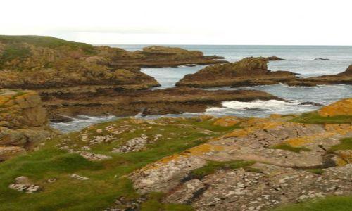 Zdjecie SZKOCJA / Aberdeen-shire / Zatoka Cruden / Kolorowe Cruden