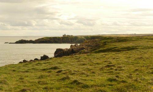 Zdjęcie SZKOCJA / Aberdeen-shire / Zatoka Cruden / Slains Castle