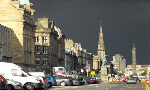 Zdjecie SZKOCJA / - / Edynburg / Szkocka pogoda