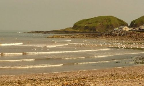 Zdjęcie SZKOCJA / Aberdeen-shire / Stonehaven / plaża Stonehaven