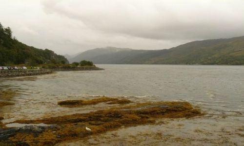 Zdjecie SZKOCJA / Highlands and Islands / Isle of Skye / Kyle of Lochalsh