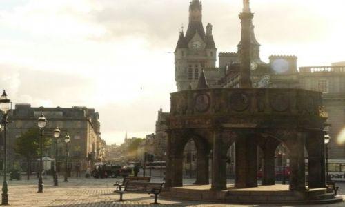 Zdjęcie SZKOCJA / Aberdeen-shire / City Centre / Główny rynek Aberdeen