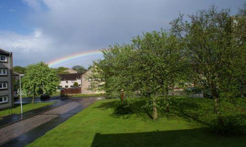 Zdjęcie SZKOCJA / Aberdeen / osiedle / Tecza