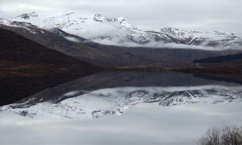Zdjęcie SZKOCJA / Highlands / Loch Cluanie / Szkockie Highlands