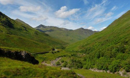 Zdjecie SZKOCJA / hIGHLANDS / Pasmo górskie Glenshiel Ridge / KONKURS