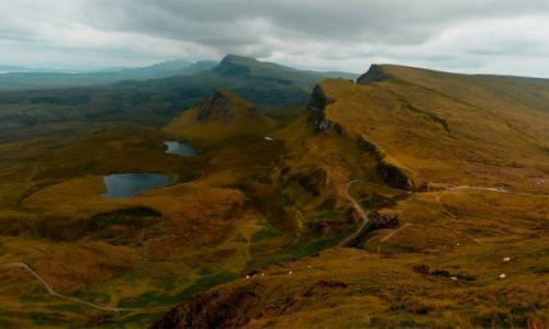 Zdjecie SZKOCJA / Wyspa Skye / Quiraing / Szkocja w barwach jesieni