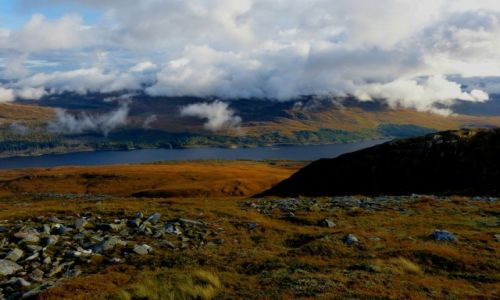 Zdjecie SZKOCJA / Highlands / Creag Meagaidh National Nature Reserve / W krainie  chmur...