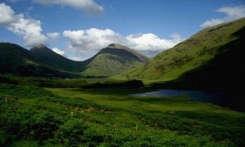 Zdjęcie SZKOCJA / Highlands / Glen Etive / Urocza Szkocka dolina