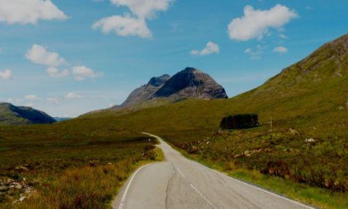 Zdjęcie SZKOCJA / Highlands /  Góry Torridon  / Ku przygodzie