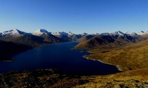 Zdjecie SZKOCJA / Highlands / Dolina Garry / Góry Knoydart