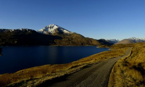 Zdjęcie SZKOCJA / Highlands / Dolina Garry / Gairich - Munro