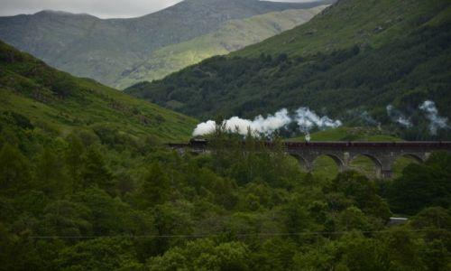 Zdjecie SZKOCJA / nverness-shire / Glenfinnan / Glenfinnan Viaduct