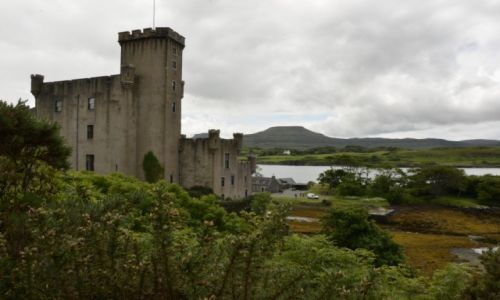 Zdjecie SZKOCJA / isle of skye / Dunvegan / Dunvegan Castle